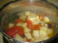 preparation of sambar