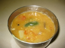 Sambar for rice