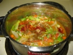 preparation of vegetable briyani